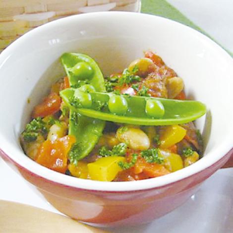白身魚のはちみつトマト煮